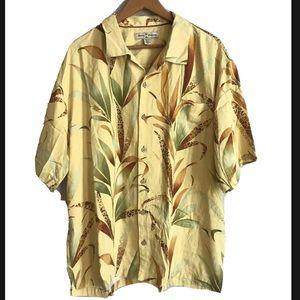 Tommy Bahama 100% Silk Button Down Size XL